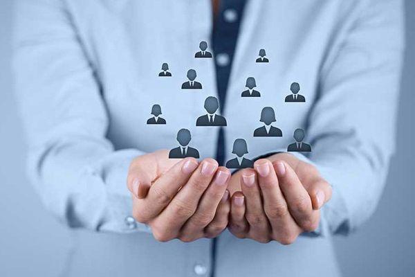 Minh họa các cá nhân trong doanh nghiệp