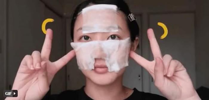đắp lotion mask với 3 phút thần kỳ